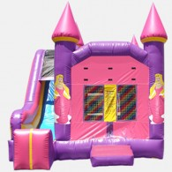 Princess 4 in 1 Combo - Commercial Grade Inflatable