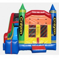 Crayon 4 in 1 Combo - Commercial Grade Inflatable