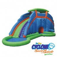 Cyclone Back to Back® Waterpark and Lazy River