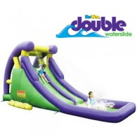 Kidwise Double Water Slide - Inflatable Water Park