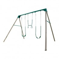 Lifetime 10-Foot Swing Set (Earthtone Colors)