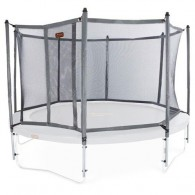 NEW Safety Enclosure for JumpFreePROLINE Trampolines - Titanium Gray. Trampoline not included.