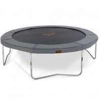 NEW JumpFree PROLINE 15 Foot Trampoline - Titanium Gray (No Safety Enclosure)