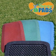 KidWise Fanny Pad Rubber Safety Mats in Blue, Green and Red