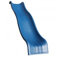 Wonder Wave Slide for a 5' Deck Height - Blue