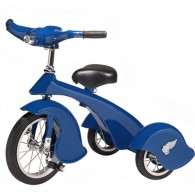 Morgan Cycle Retro Style Blue Steel Tricycle