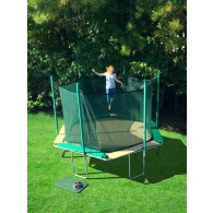 Magic Circle 14' Hexagon Trampoline with Safety Cage