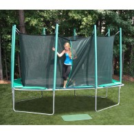 Magic Circle Rectangular 9x14 Trampoline-entry