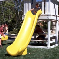 Yellow Scoop Slide