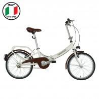 Lombardo Folding 2000 20 inch Bike- White