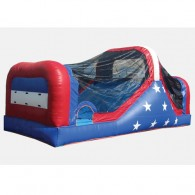 12' Patriotic Themed Happy Slide - Commercial Grade Slide