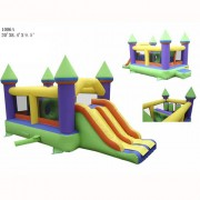 Commercial Grade Inflatable- Bounce and Slide Castle I