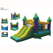 Commercial Grade Inflatable- Super Bounce and Slide Castle II