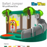 KidWise Safari Jumper - Commercial Inflatable Bounce House