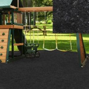 Playground Recycled Rubber Mulch Black