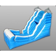 16' Ocean Wet and Dry Inflatable Slide - Commercial Inflatable