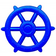 Blue Ships Wheel - Play Set Accessory