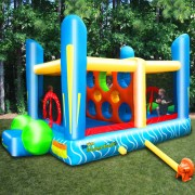 Jump'n Dodgeball Sports Game - Inflatable Bounce House
