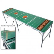 NFL Licensed Foldable Tailgate Table with Ping Pong Net