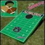 Auburn- NCAA Licensed Football Field - Bean Bag Toss and Corn Hole Game