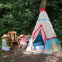 Win Green Playhouse - Cowboy Wigwam Themed