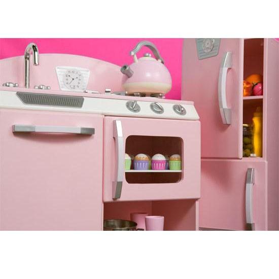 Kidkraft Pink Retro Kitchen Ideas About Kidcraft Kitchen On - Kidkraft pink retro kitchen and refrigerator 53160