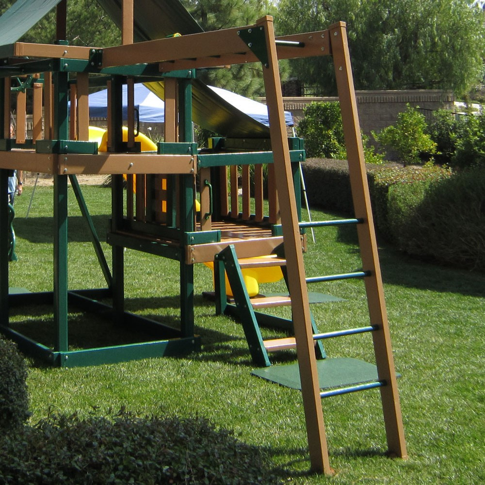 monkey climber attachment for monkey playsystems