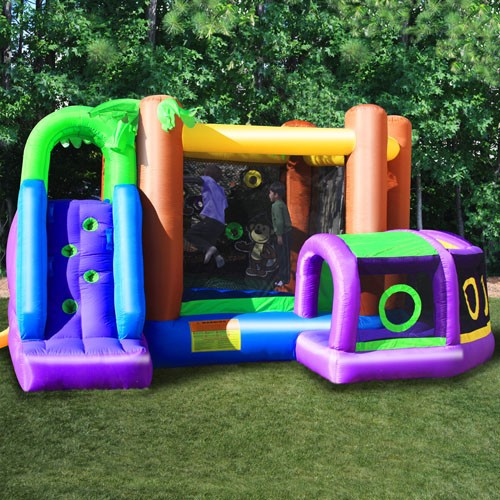 Kidwise Monkey Explorer Jumper Inflatable Bounce House