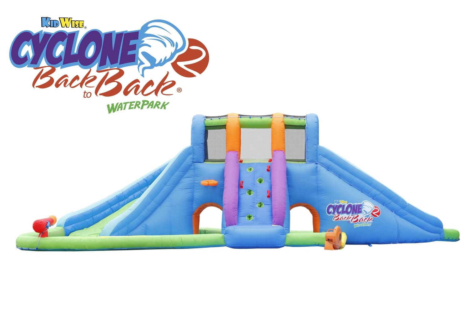 cyclone 2 back to back waterpark and lazy river