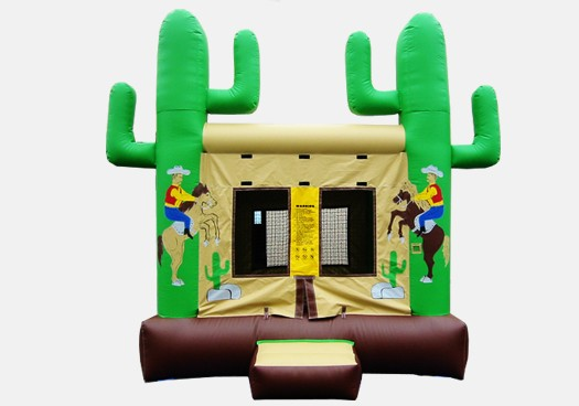 Western Bouncer Commercial Inflatable Bounce House
