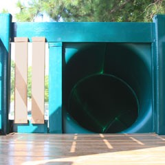 Tunnel Twister Slide For 5 Playset Deck Height