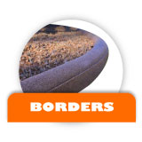 Rubber Mulch Borders